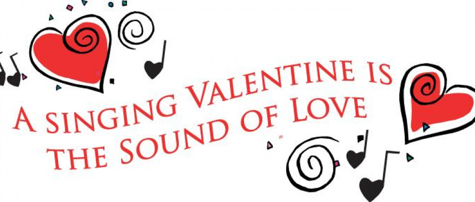 Singing Valentine's coming soon!
